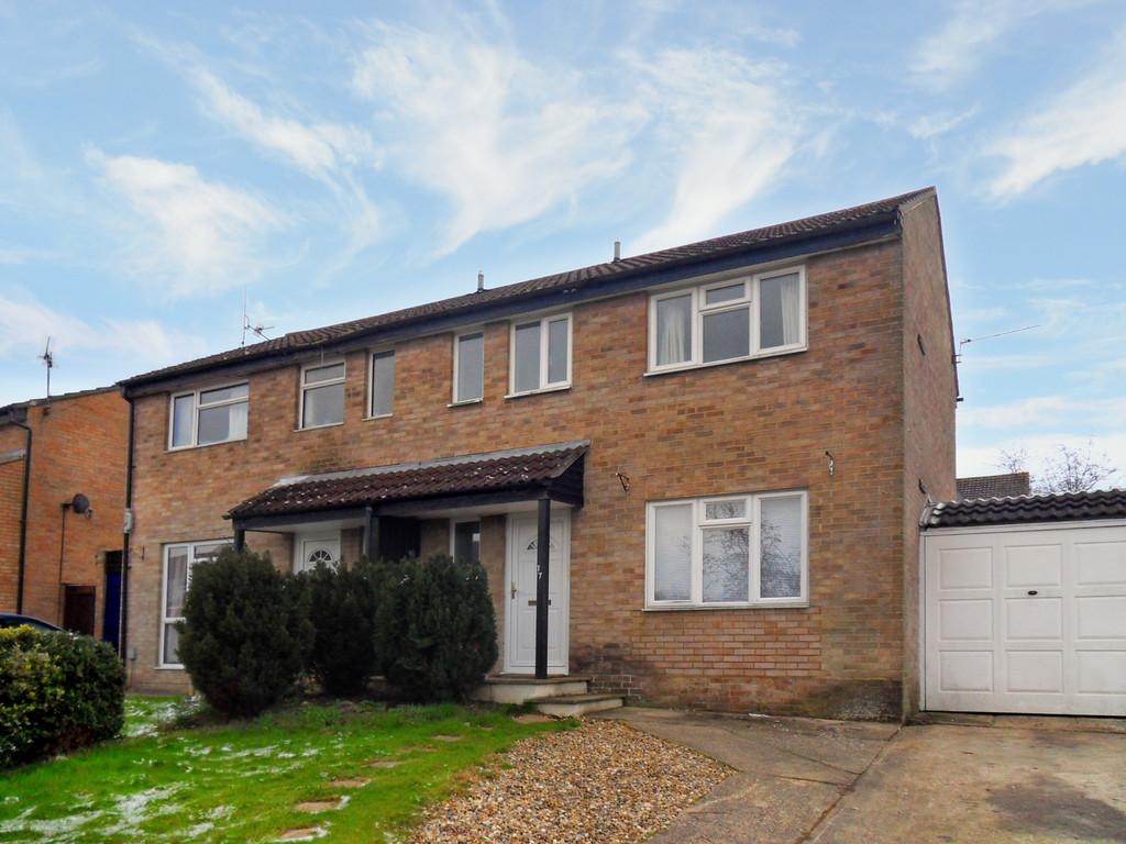 3 Bedrooms Semi Detached House for rent in Thackeray End , Haydon Hill
