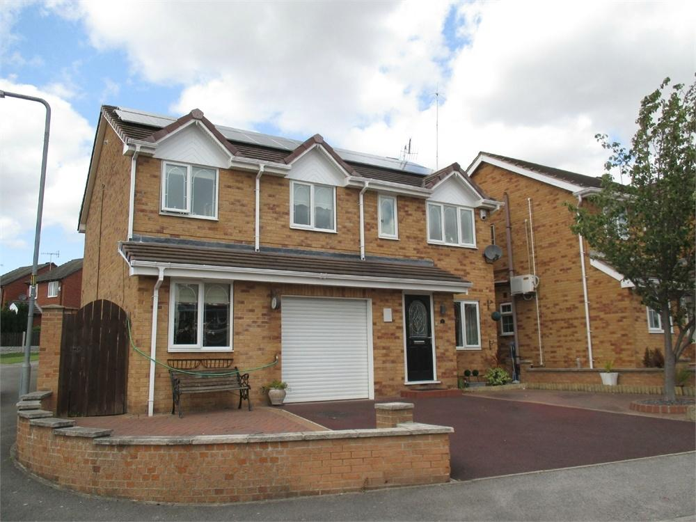 5 Bedrooms Detached House for sale in Burtop Croft, Hemingfield, BARNSLEY, South Yorkshire