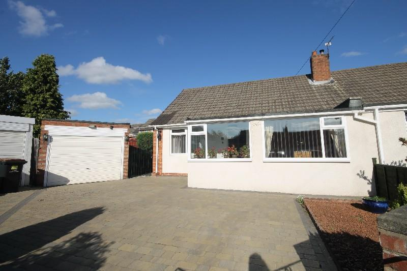 2 Bedrooms Semi Detached Bungalow for sale in Hampton Court, Chester Le Street