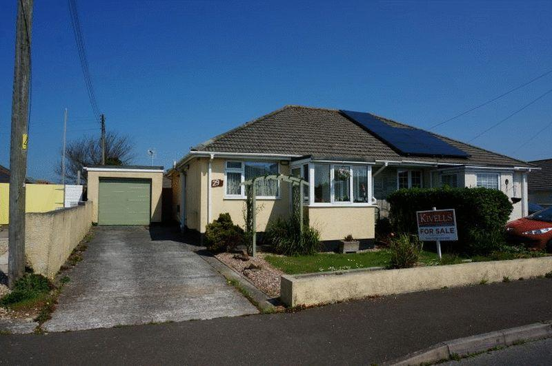 2 Bedrooms Semi Detached Bungalow for sale in Woodley Close, Stratton