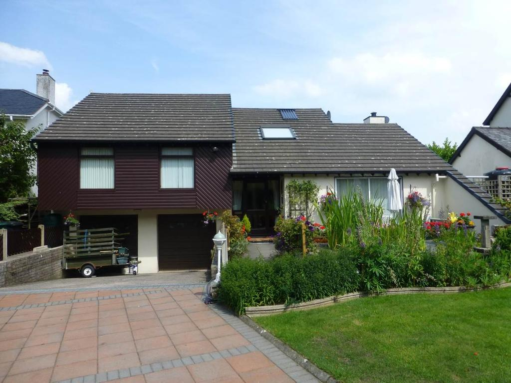 4 Bedrooms Detached Bungalow for sale in Crud yr Haul, Tal y bont, LL32 8SF