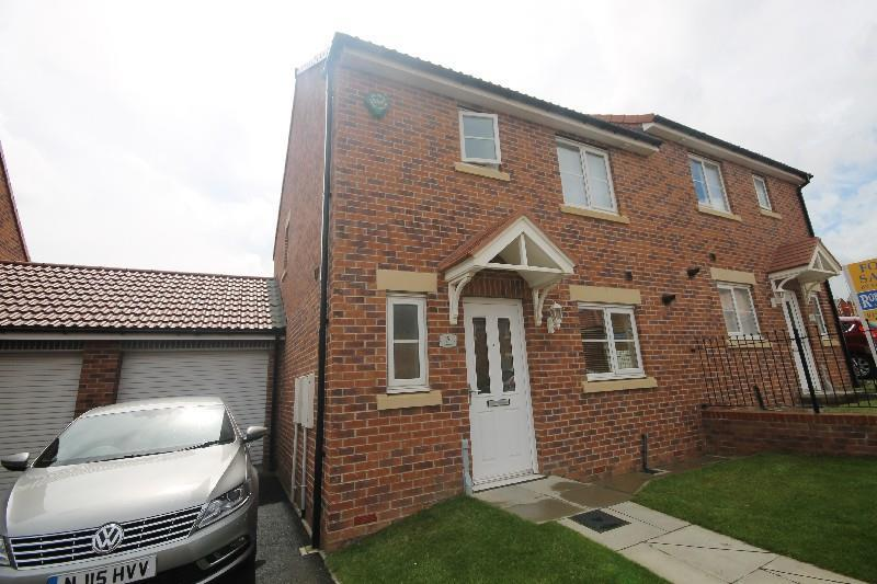 3 Bedrooms Semi Detached House for sale in Fellway, Pelton Fell