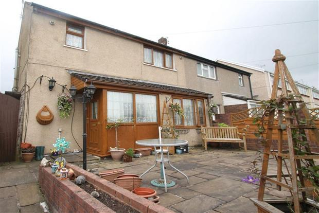 2 Bedrooms Semi Detached House for sale in Forest Road, Beddau