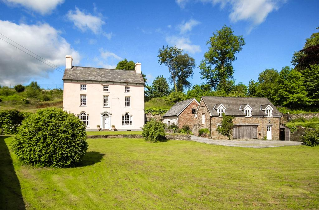 6 Bedrooms Detached House for sale in Pentrebach, Brecon, Powys