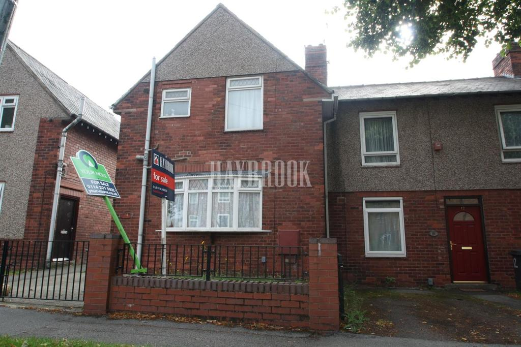 3 Bedrooms End Of Terrace House for sale in Horninglow Road, Firth Park
