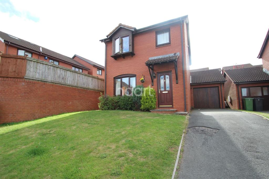 3 Bedrooms Detached House for sale in Pinwood Meadow, Exeter