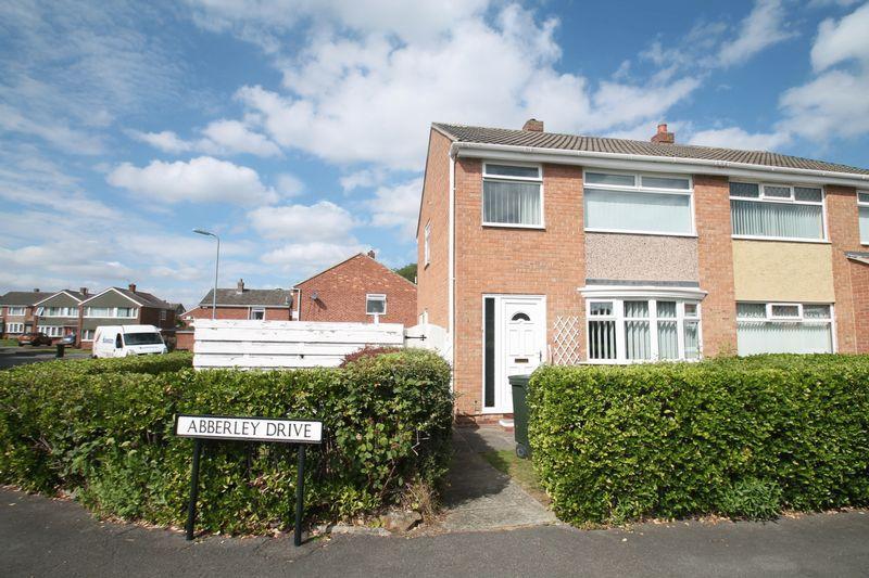 3 Bedrooms Semi Detached House for sale in Abberley Drive Hemlington, Middlesbrough