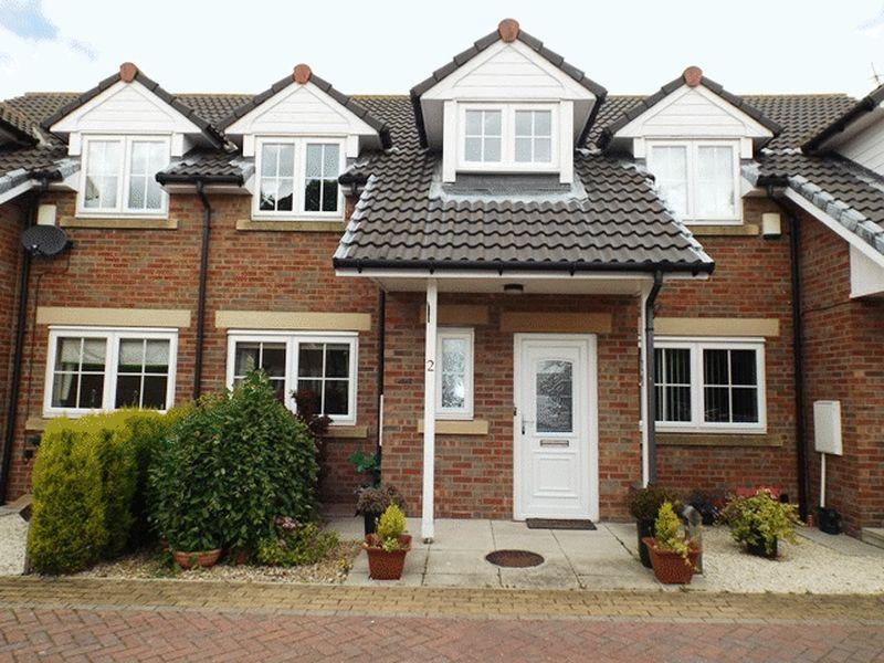 3 Bedrooms Terraced House for sale in Station Mews, Widdrington - Three Bedroom Terrace House