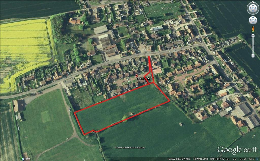 Land Commercial for sale in Land to the South of Nanrock Close Eastrington