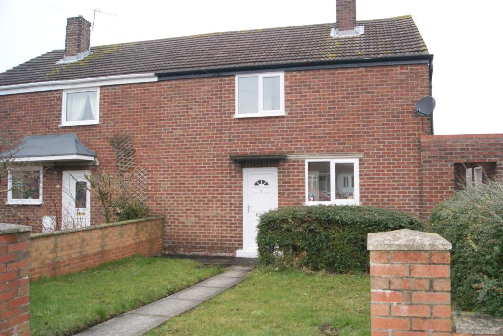 2 Bedrooms Semi Detached House for sale in Usher Avenue, Sherburn Village, DH6