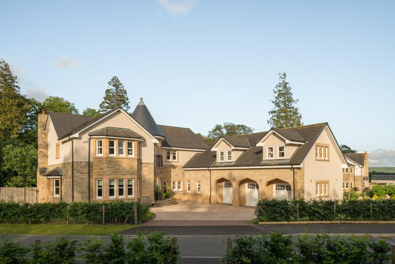 5 Bedrooms Detached House for sale in Rutherford Castle Green, West Linton, Nr. Edinburgh, Peeblesshire