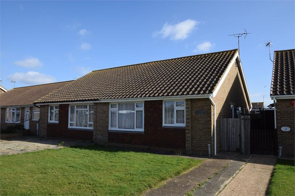 2 Bedrooms Semi Detached Bungalow for sale in Kipling Walk, Poets Estate, East Sussex