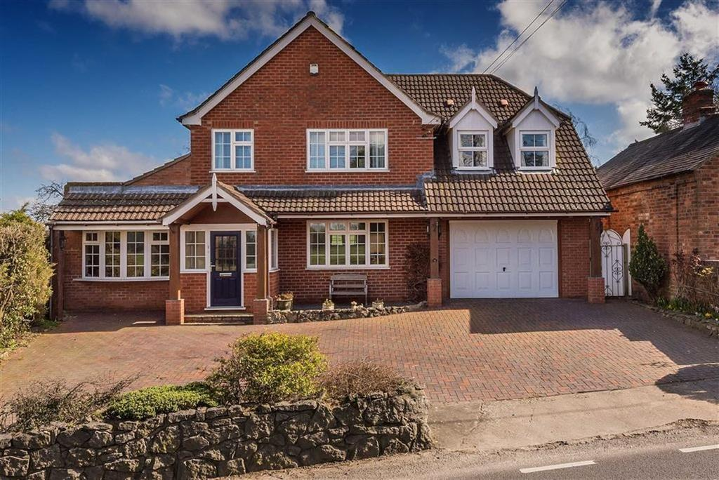 4 Bedrooms Detached House for sale in Harley Road, Cressage, Shrewsbury, Shropshire