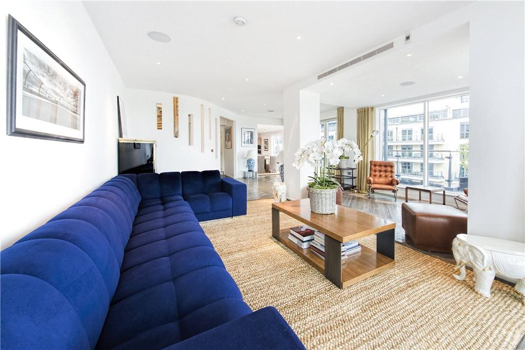 3 Bedrooms Penthouse Flat for sale in Dolphin House, Lensbury Avenue, Imperial Wharf, London, SW6