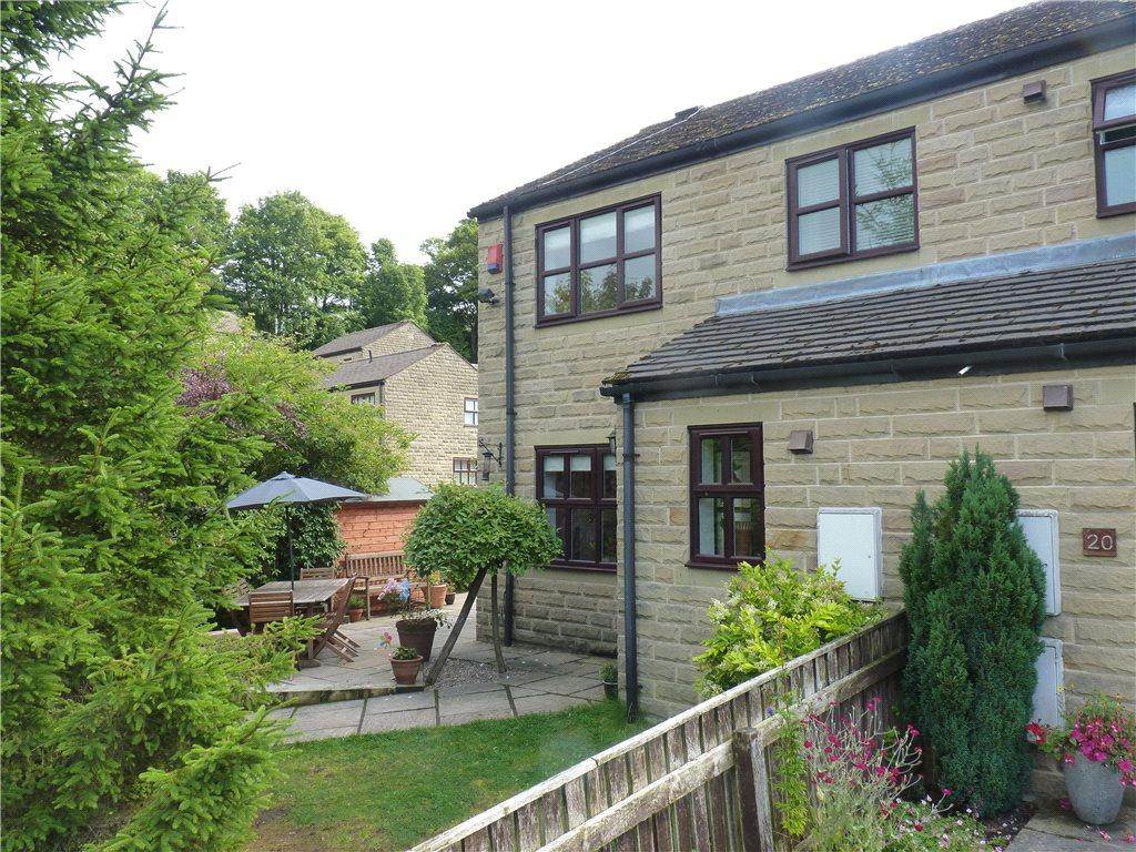 4 Bedrooms Semi Detached House for sale in Waterside, Oxenhope, Keighley, West Yorkshire