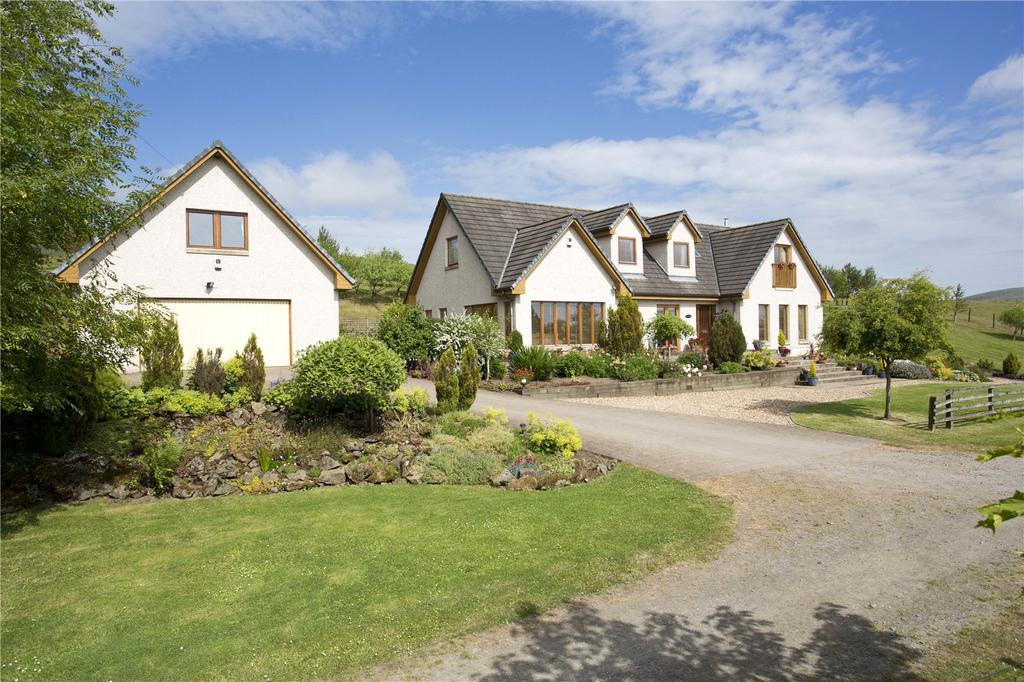 5 Bedrooms Detached House for sale in Schiehallion, Fairslacks, West Linton, Peeblesshire, EH46