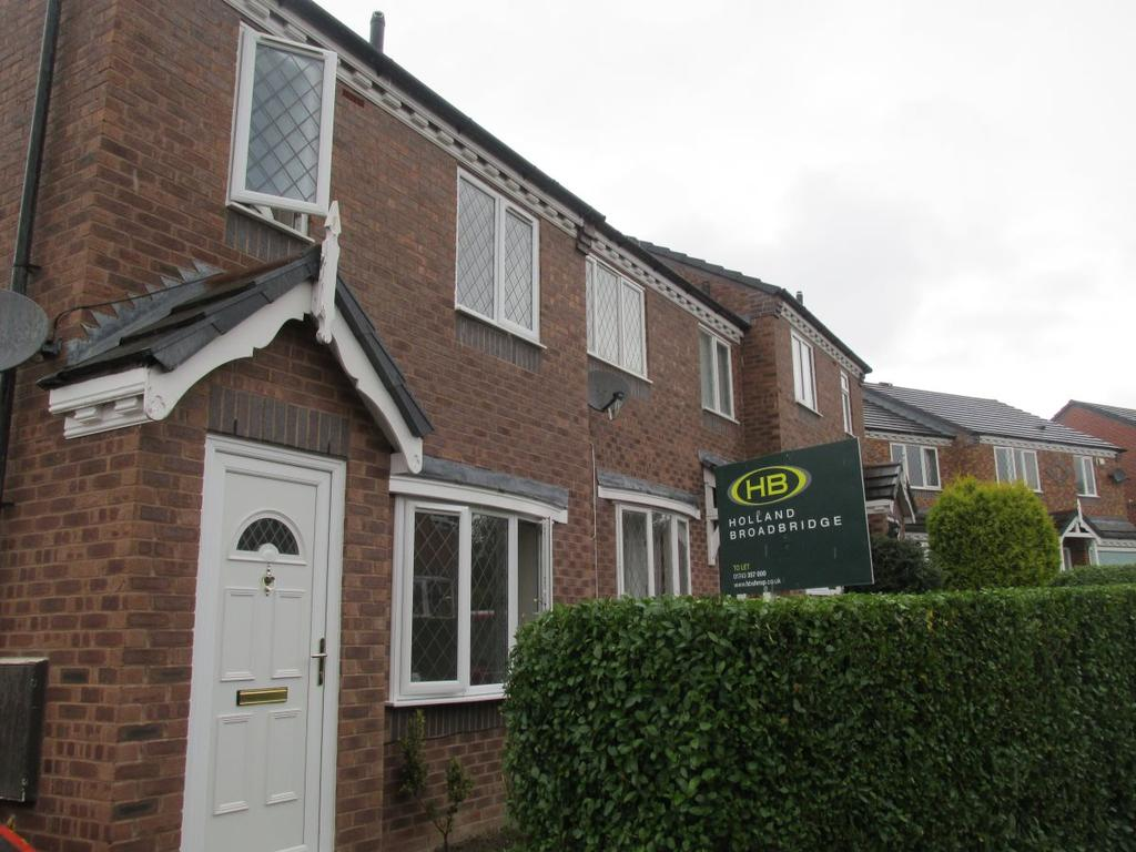 3 Bedrooms Terraced House for rent in Cresswell Court, Bowbrook
