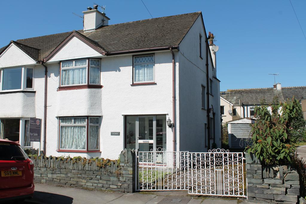 3 Bedrooms Semi Detached House for sale in Atara, Stanger Street, Keswick, Cumbria