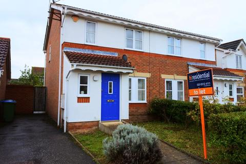 2 bedroom semi-detached house to rent - Hutchins Road, Thamesmead, London SE28