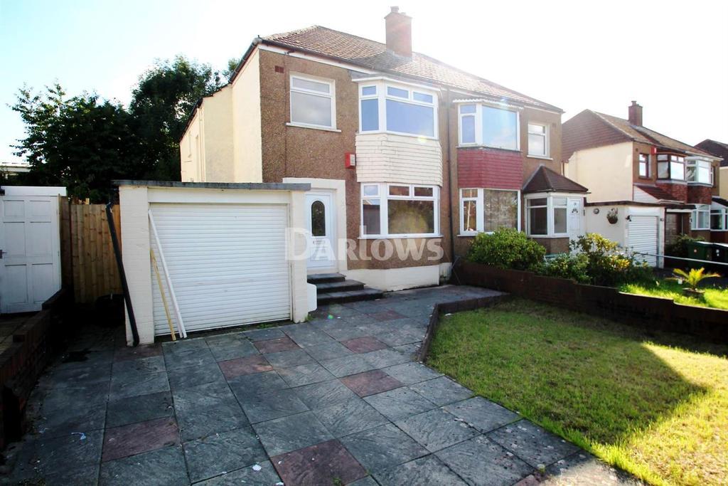 3 Bedrooms Semi Detached House for sale in Glastonbury Terrace, Llanrumney, Cardiff