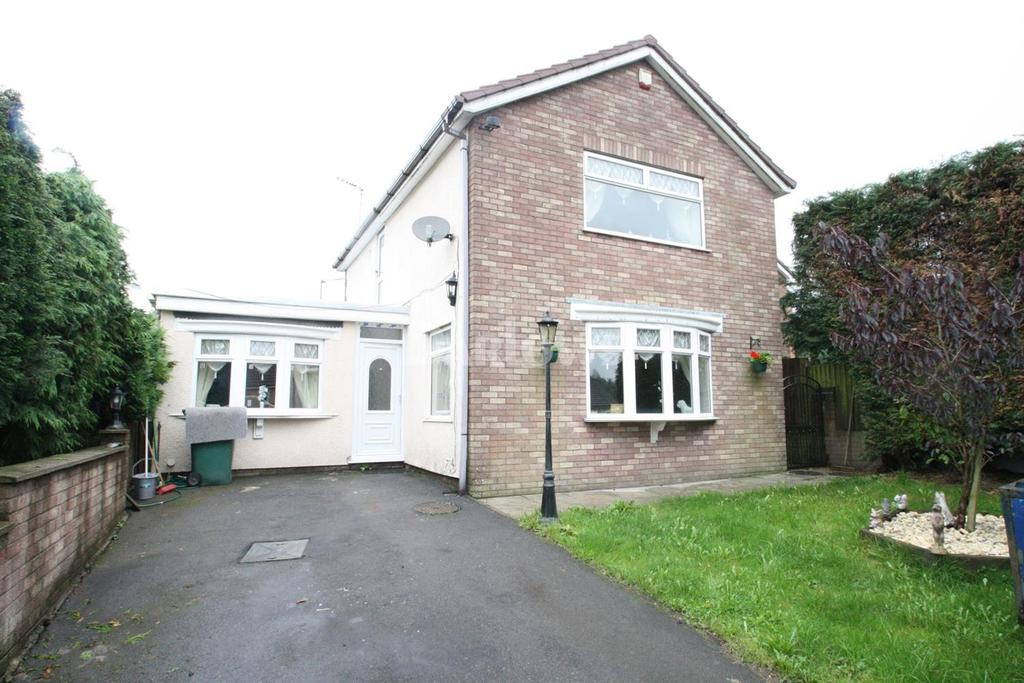 4 Bedrooms Detached House for sale in Russell Close, Rassau, Ebbw Vale, Gwent