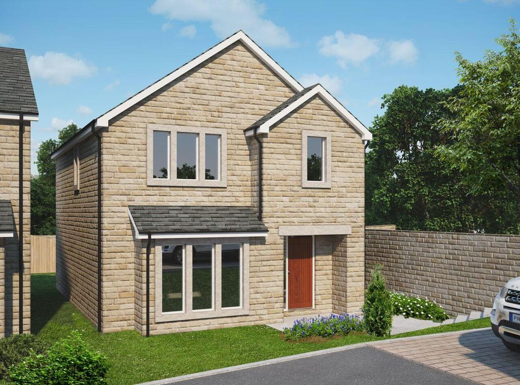 4 Bedrooms Detached House for sale in Hillbeck, Wheatley, Halifax