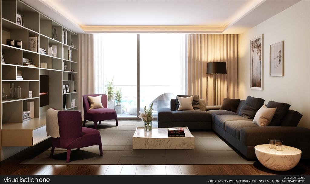 2 Bedrooms Flat for sale in One Lillie Square, Lillie Square, Fulham, London, SW6