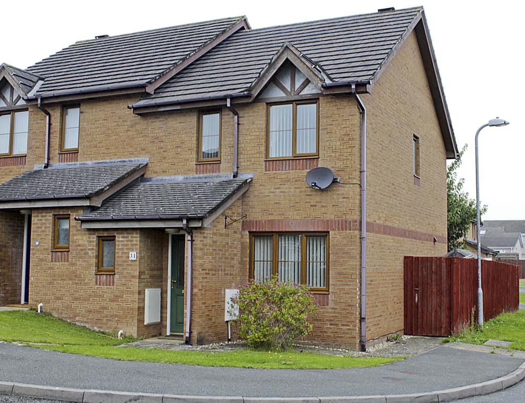 3 Bedrooms Semi Detached House for sale in Bro Caerwyn, Llangefni, North Wales