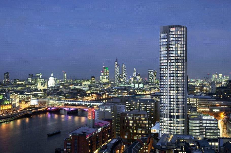 Studio Flat for sale in South Bank Tower, London