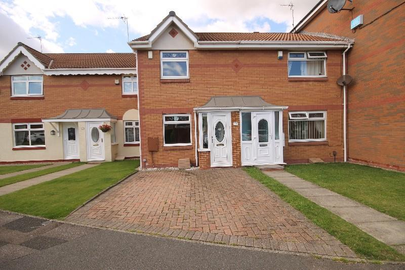 2 Bedrooms Terraced House for sale in Gatesgarth Close, Hartlepool