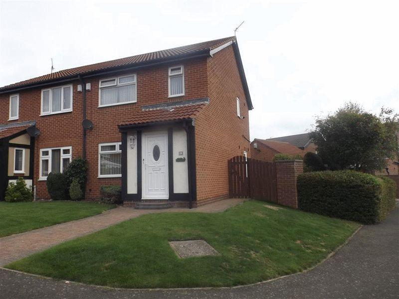 3 Bedrooms Semi Detached House for sale in Coleridge Drive, Choppington
