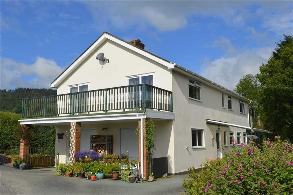 4 Bedrooms Detached House for sale in Riverwood, Borfa Lane, Clatter, Caersws, Powys, SY17