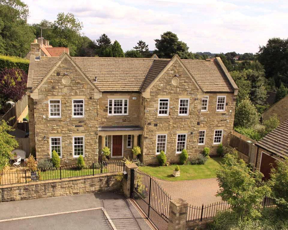 5 Bedrooms Detached House for sale in Tib Garth, Linton, Wetherby, West Yorkshire