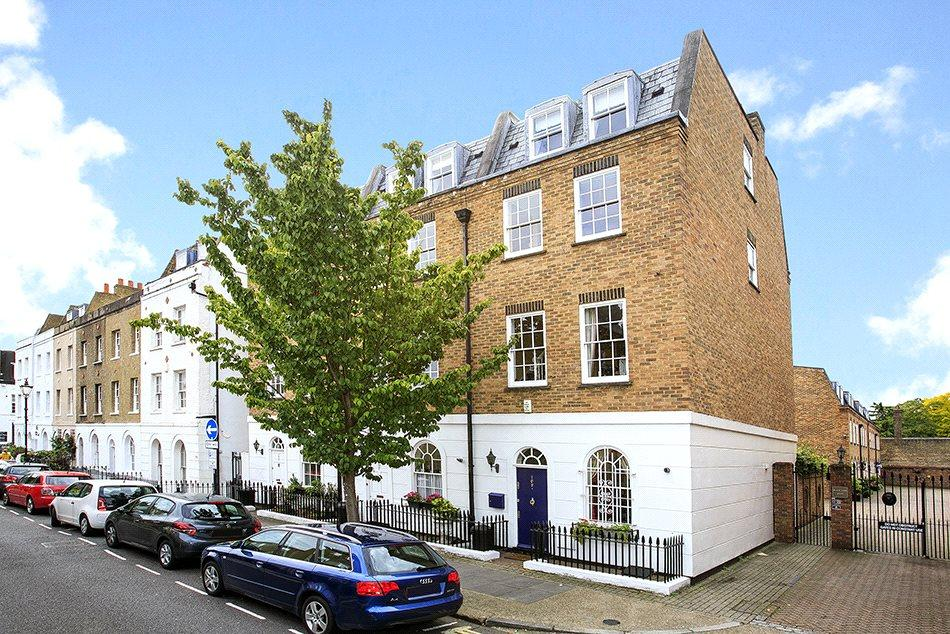4 Bedrooms Semi Detached House for sale in Black Lion Lane, London, W6
