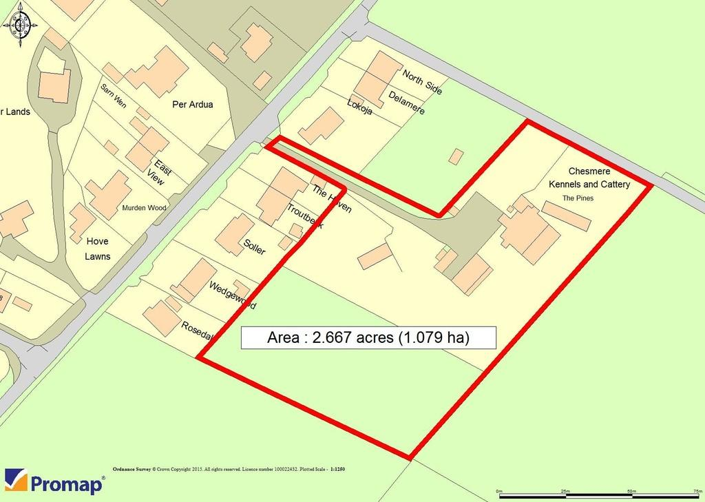 Land Commercial for sale in Mill Lane, Higher Heath