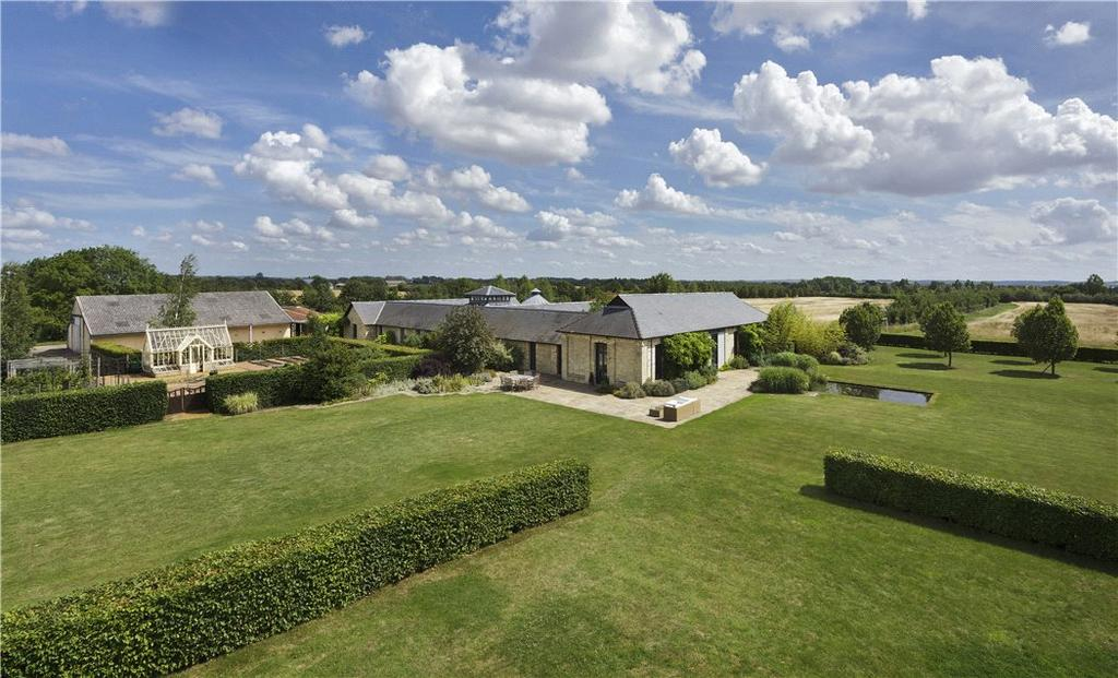 6 Bedrooms Detached House for sale in Shingay Cum Wendy, Royston, Cambs/Hertfordshire, SG8