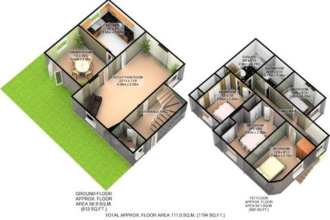 4 bedroom detached house for sale - Eustace Place, Borgard Road, London SE18