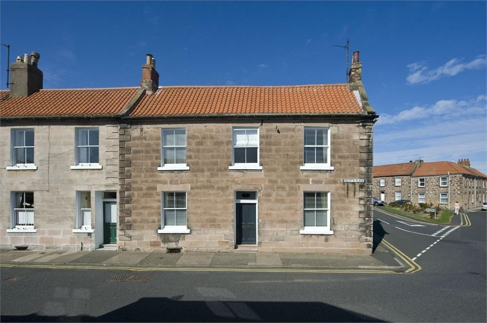 3 Bedrooms End Of Terrace House for sale in 7 Scotts Place, Berwick Upon Tweed, Northumberland