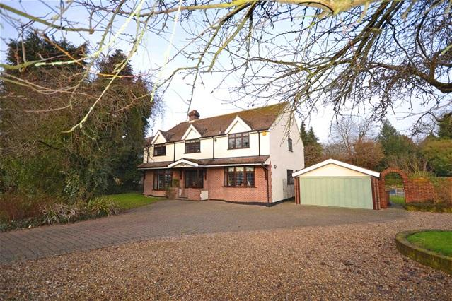 5 Bedrooms Detached House for sale in Hertford Road, Great Amwell, nr. Ware