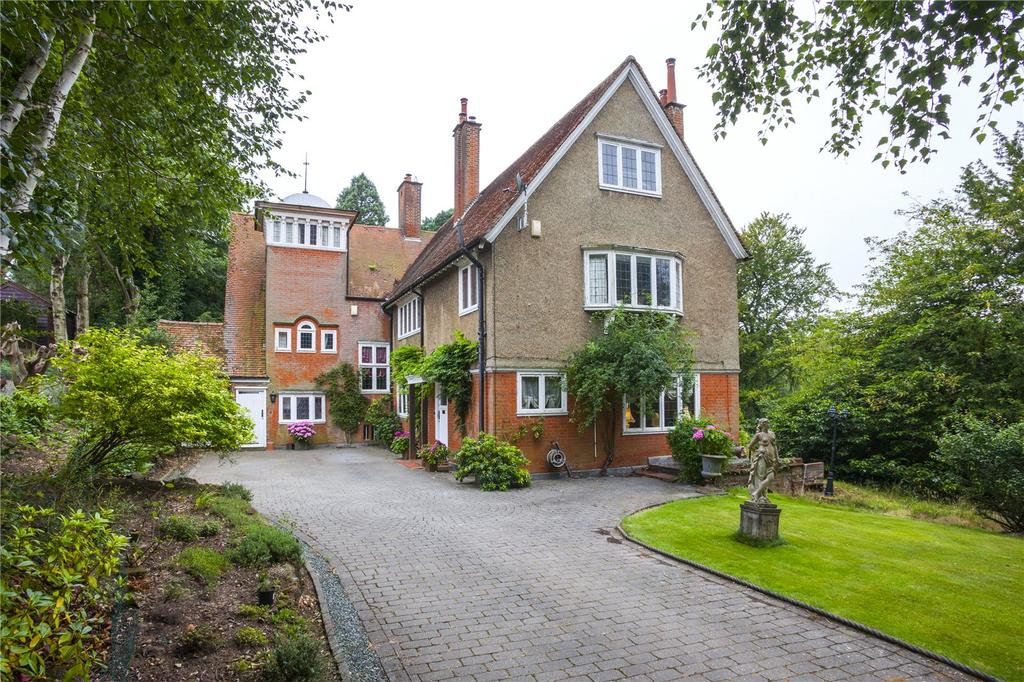 5 Bedrooms Detached House for sale in Silverbirches Lane, Woburn Sands, Milton Keynes, Bedfordshire
