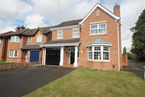 4 bedroom detached house to rent - Allerton Drive, Leicester