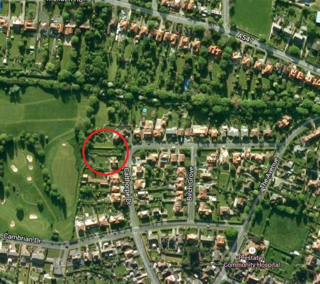 Land Commercial for sale in Land at 28 Calthorpe Drive, Prestatyn