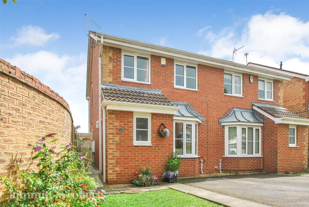 3 Bedrooms Semi Detached House for sale in Abbeydale Gardens, South Hetton, County Durham, DH6