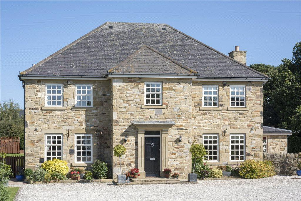 5 Bedrooms Detached House for sale in Burgham Park, Felton, Morpeth, Northumberland