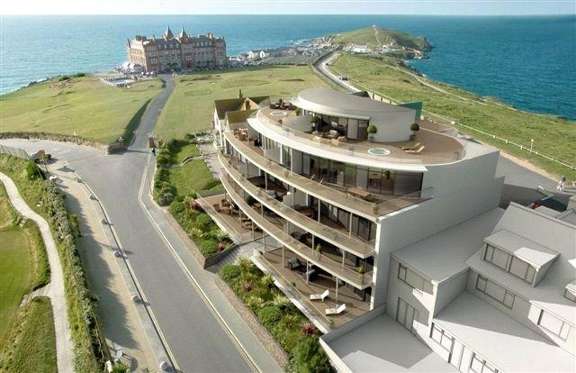 2 Bedrooms Apartment Flat for sale in 8 Pearl, Headland Road, Newquay, Cornwall