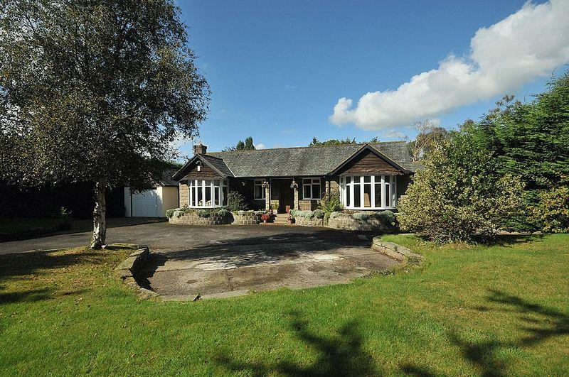 4 Bedrooms Detached Bungalow for sale in Knutsford Road, Cranage