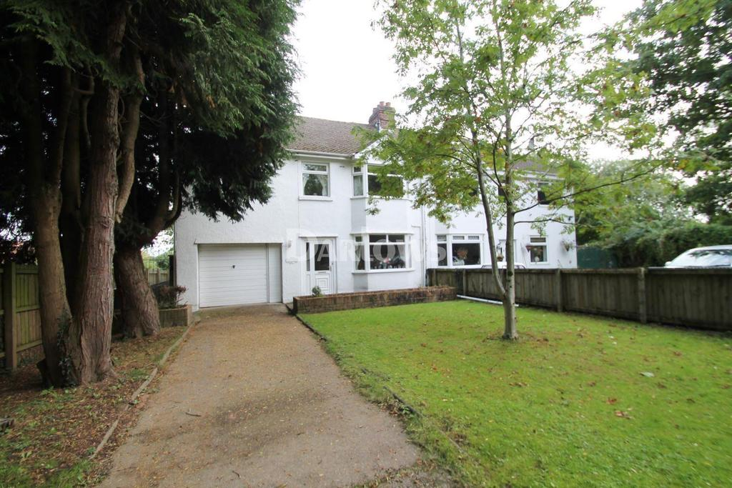 5 Bedrooms Semi Detached House for sale in Newport Road, Old St Mellons, Cardiff