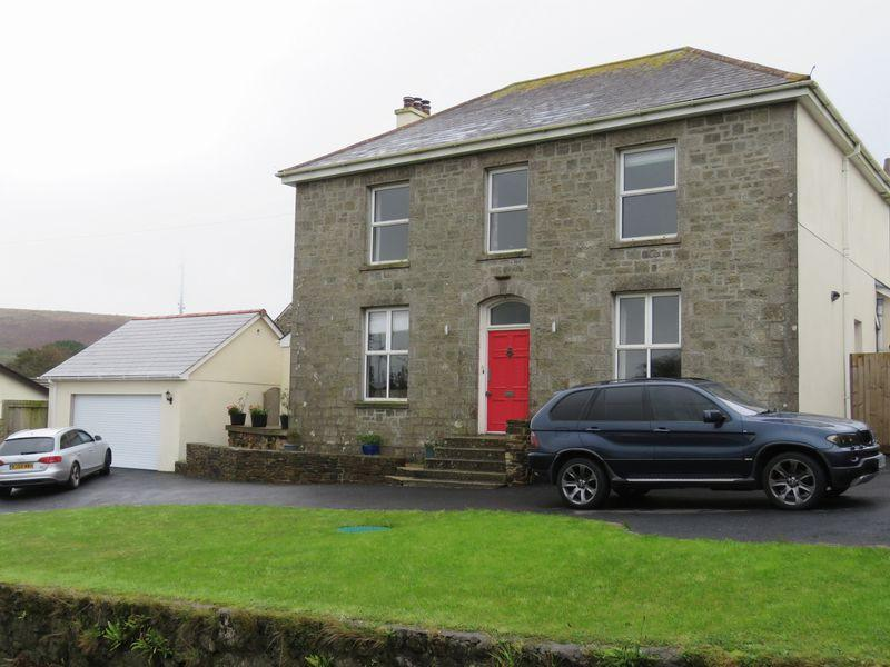 4 Bedrooms Detached House for sale in Carnkie, Redruth