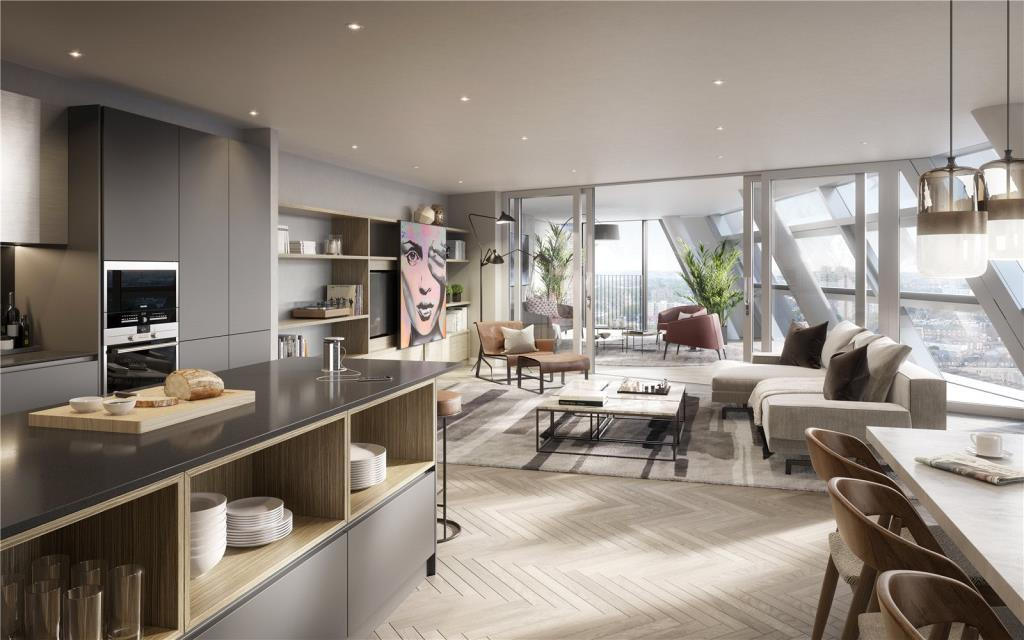 3 Bedrooms Flat for sale in Two Fifty One, London, SE1