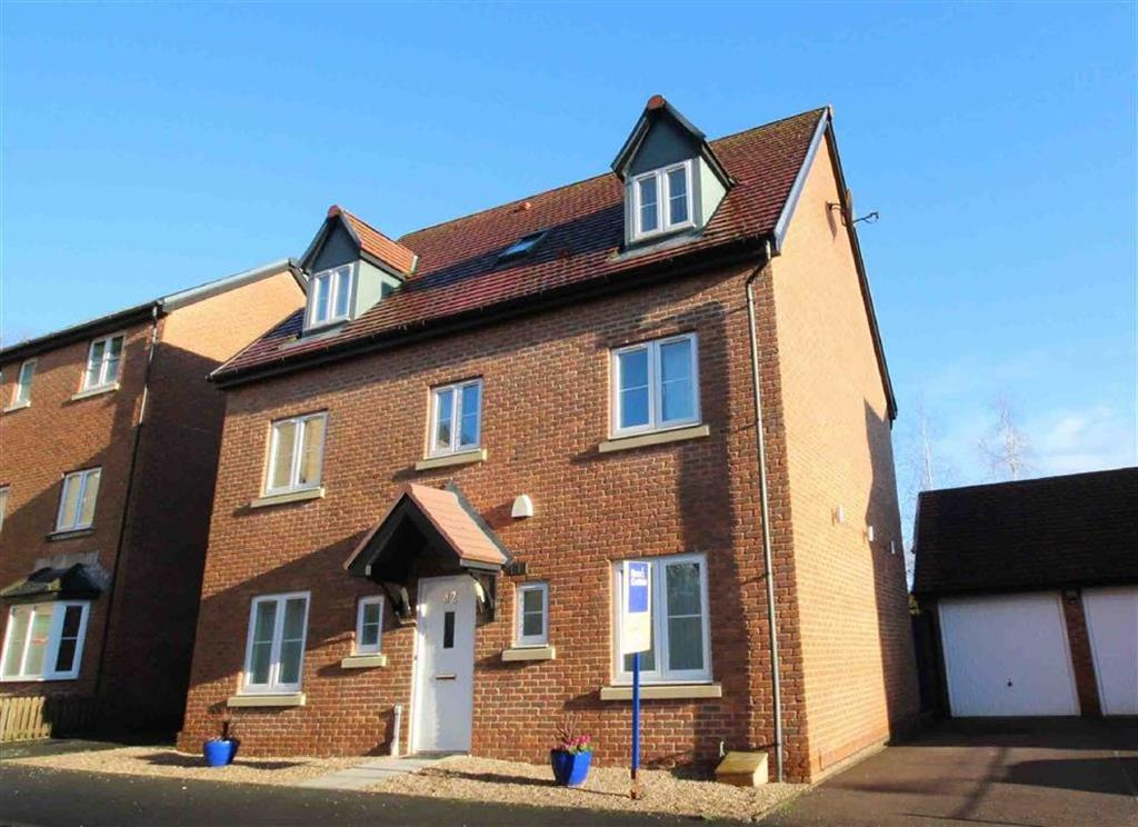 5 Bedrooms Detached House for sale in Whitworth Square, Cardiff